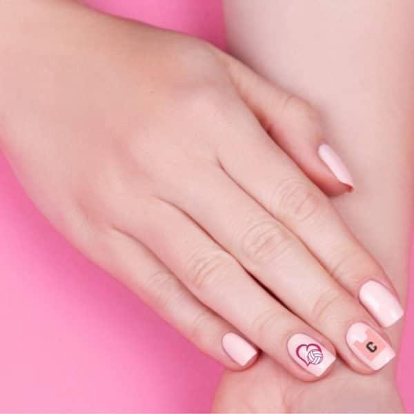 netball nail art