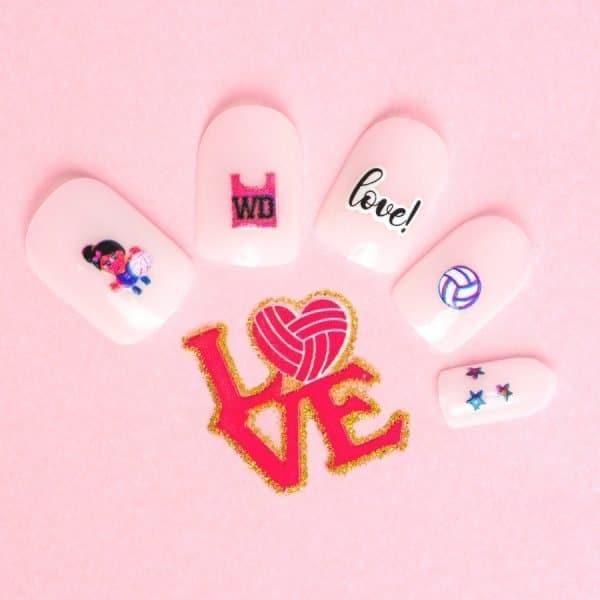 Sporty Nail Art Stickers